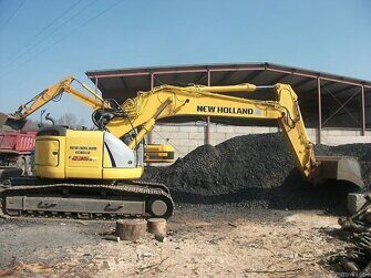 Ходовая часть экскаватора New Holland E235