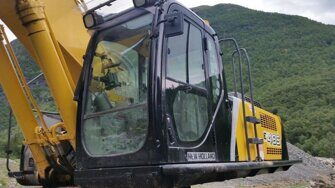 Ходовая часть экскаватора New Holland E485BEH