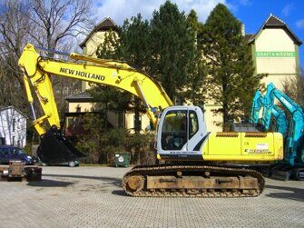 Ходовая часть экскаватора New Holland E385EL