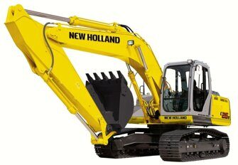 Ходовая часть экскаваторов New Holland